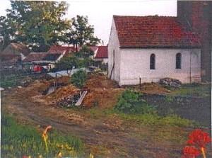 KapliKościółek św. Barbary   po Rozbudowieczka św. Barbary   Przed Rozbudową