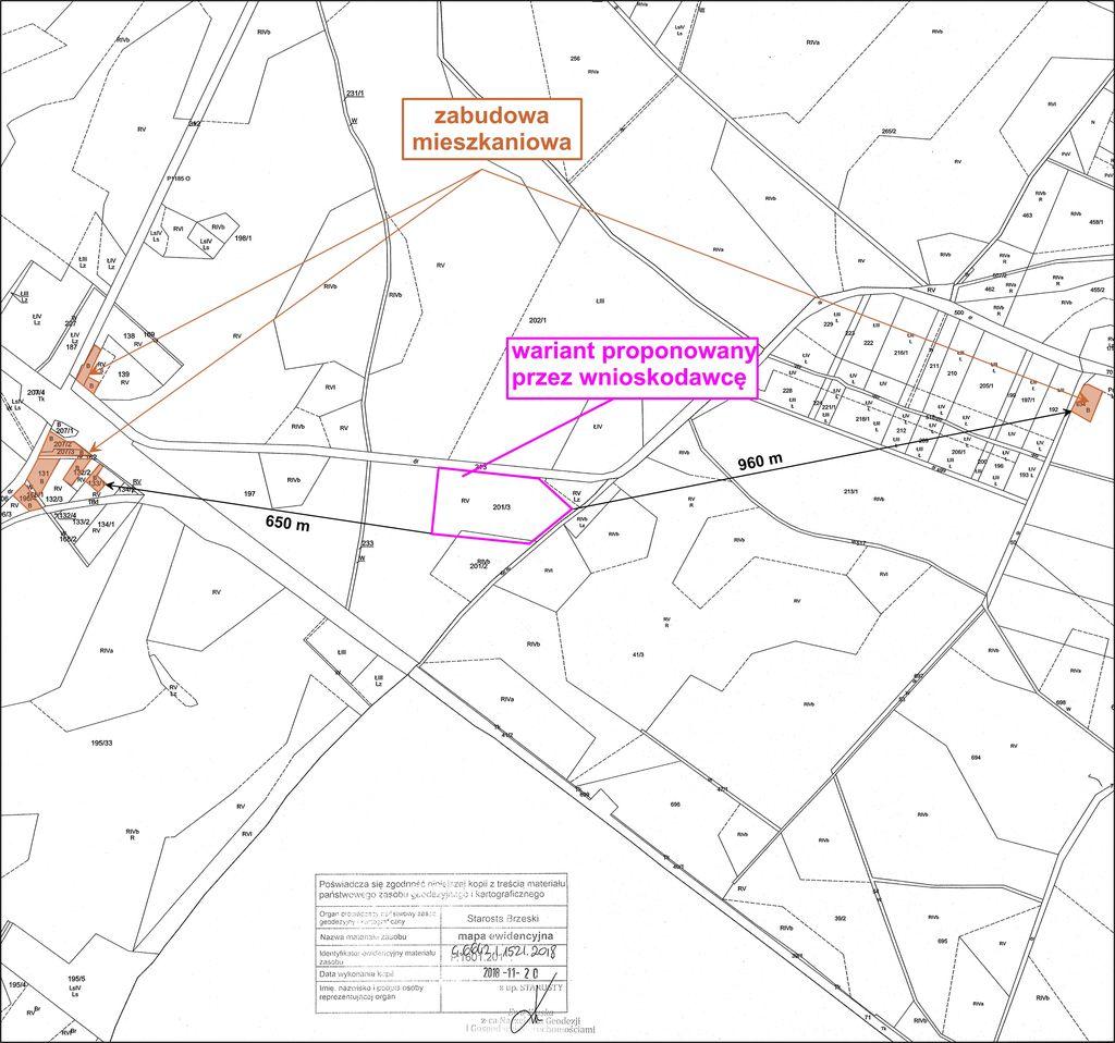 mapa z lokalizacją